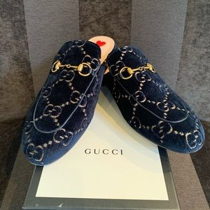 Gucci Princetown mules in near new condition.